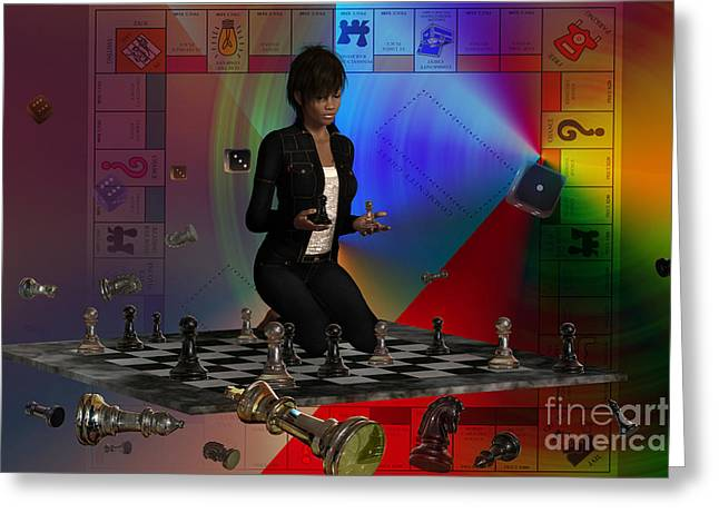 Monopoly Greeting Cards - EndGame Greeting Card by Shadowlea Is
