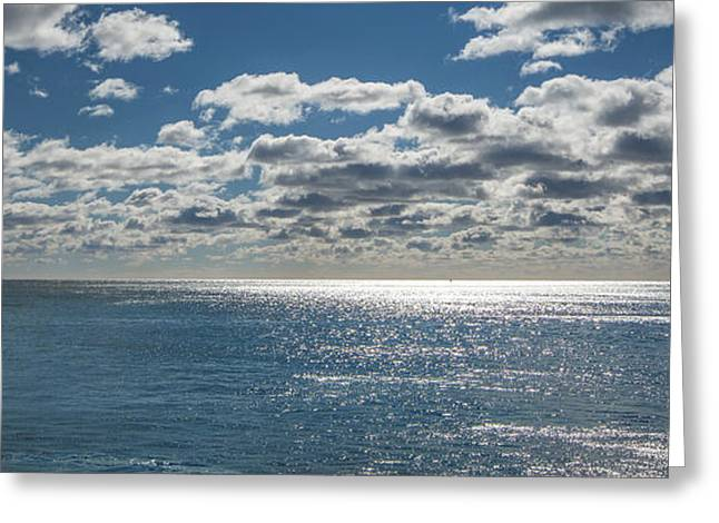 Coastal Maine Greeting Cards - Endless Clouds I Greeting Card by Jon Glaser