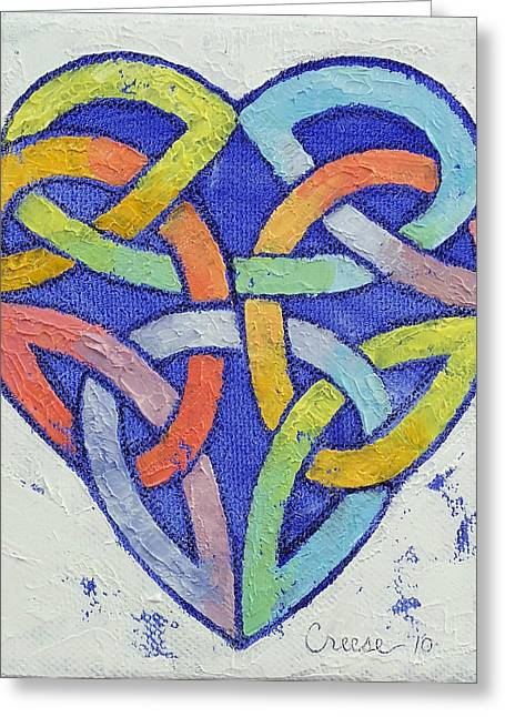 Amour Greeting Cards - Endless Rainbow Greeting Card by Michael Creese