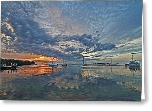 Sailboat Art Greeting Cards - Endless Sky Greeting Card by HH Photography of Florida