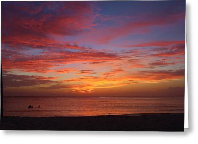 Sunset Greeting Cards Greeting Cards - Endless Sky Greeting Card by Lizbeth Hinshaw-Kurtz