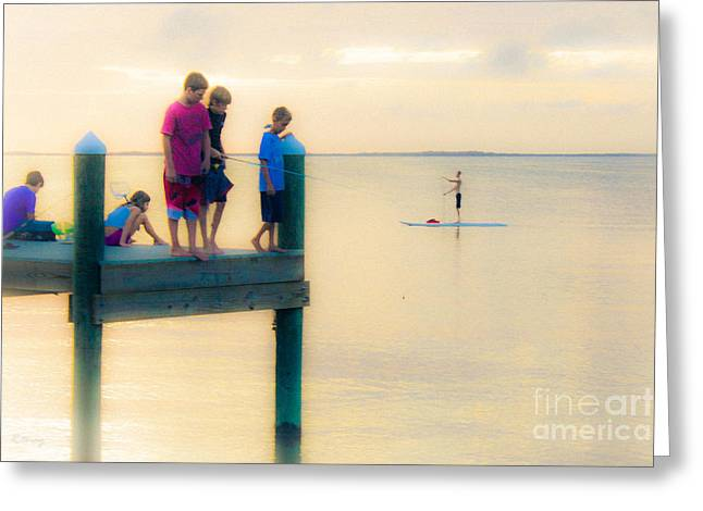 Isla Morada Greeting Cards - Endless Summer 2 Greeting Card by Rene Triay Photography