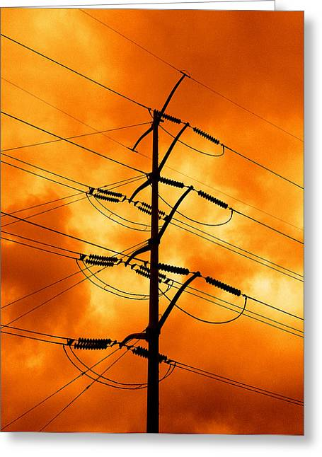 Power Photographs Greeting Cards - Energized Greeting Card by Don Spenner