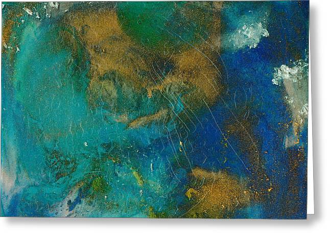 Energize Paintings Greeting Cards - Energized Greeting Card by Douglas Fischer