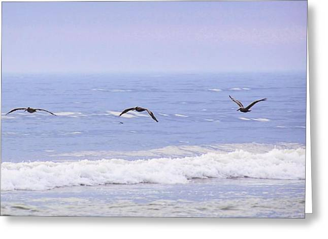 Sand Pattern Greeting Cards - Energy Efficient Greeting Card by JAMART Photography