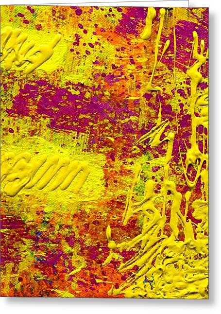 Decorative Print Greeting Cards - Energy Greeting Card by John  Nolan