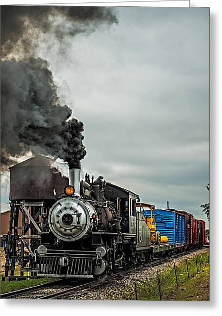 Express Greeting Cards - Engine 353 Greeting Card by Paul Freidlund