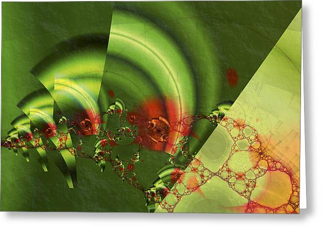 Repetition Greeting Cards - Engine of Creation Greeting Card by Dan Turner