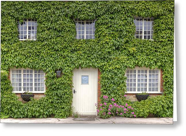 Cottage Photographs Greeting Cards - English Cottage Greeting Card by Joana Kruse