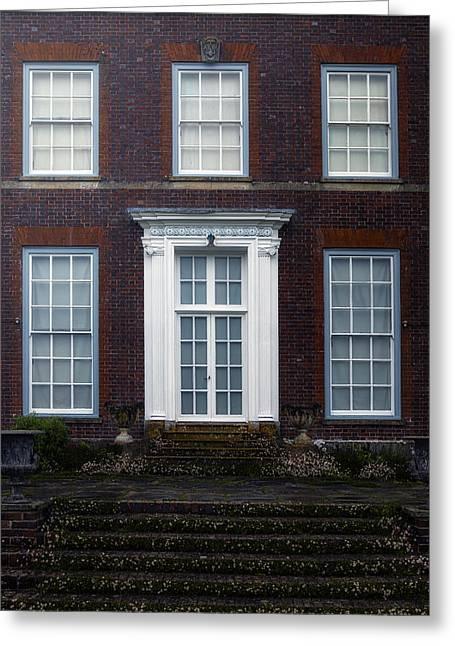 Manor Greeting Cards - English manor Greeting Card by Joana Kruse