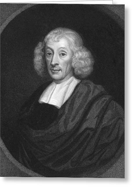 English Naturalist John Ray Greeting Card by Underwood Archives
