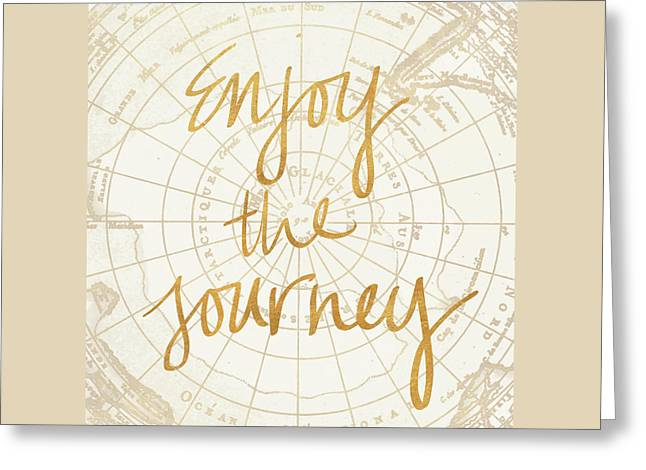 Enjoy The Journey Greeting Card by Elizabeth Medley