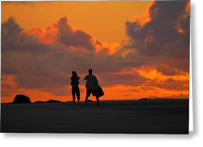Cold Storage Beach Greeting Cards - Enjoy The Moment Greeting Card by Dianne Cowen