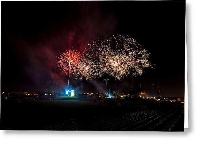 Brighthouse Field Greeting Cards - Enjoy the Show Greeting Card by Jeff Donald
