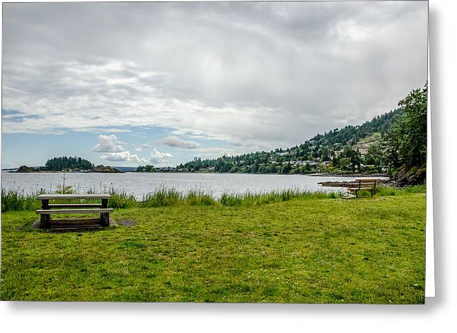 Take A View Greeting Cards - Enjoy the View Collection 1 Greeting Card by Roxy Hurtubise