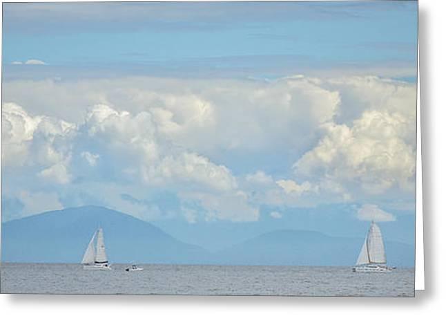 Take A View Greeting Cards - Enjoy the View Collection 17 Greeting Card by Roxy Hurtubise