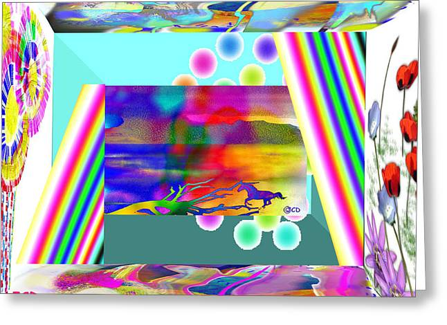 Enjoy This Greeting Card by Jean-Claude Delhaise