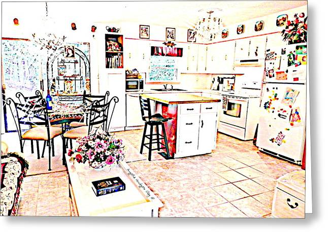 Unwind Digital Greeting Cards - Enjoyment at Home Greeting Card by Angelia Hodges Clay