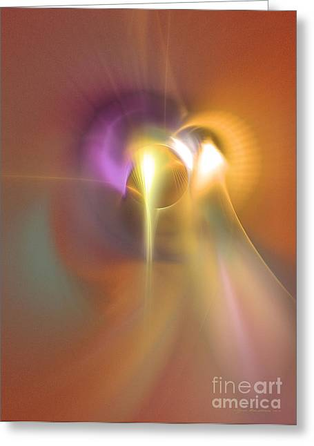 Enlightened Greeting Card by Sipo Liimatainen