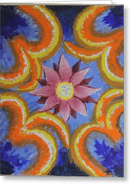 Enlightened Path Greeting Cards - Enlightenment Greeting Card by R B