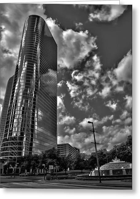 Architectural Photography Greeting Cards - Enron Greeting Card by Dado Molina