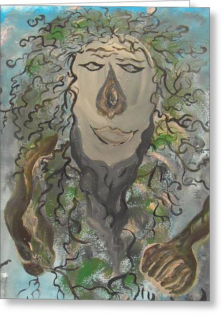 Ent Paintings Greeting Cards - Ent Greeting Card by Judy Dow