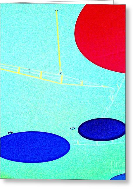 Installation Art Greeting Cards - Enter Here Greeting Card by Jacqueline McReynolds