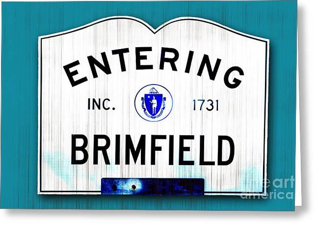 Brimfield Greeting Cards - Entering Brimfield Greeting Card by K Hines