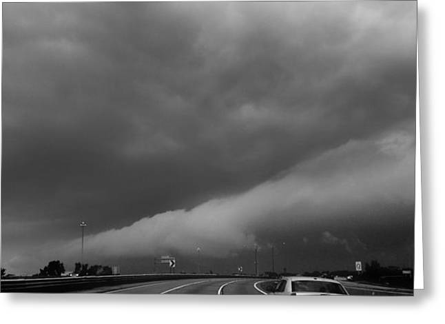 Patrick Greeting Cards - Entering the Storm Greeting Card by Patrick