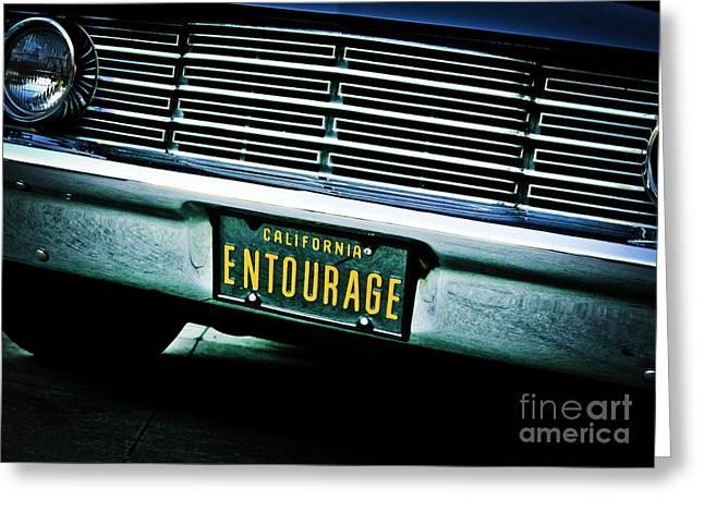 Entourage Greeting Cards - Entourage Greeting Card by Darin Mangan