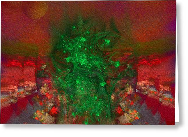 Wicked Witch Of The West Greeting Cards - Entrance to Oz Greeting Card by Diane Parnell
