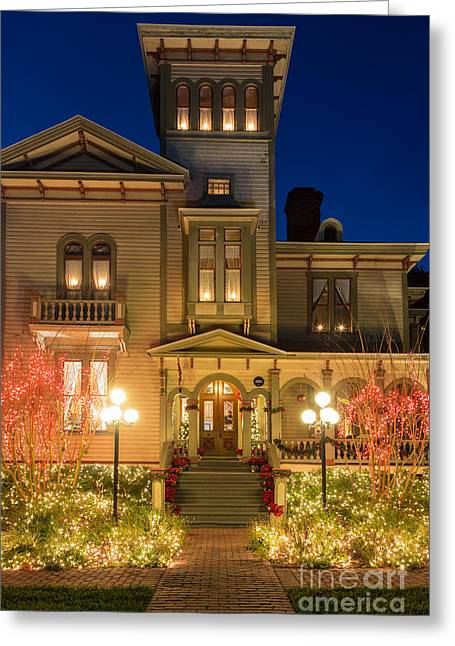 Beach At Night Greeting Cards - Entrance to the Fairbanks House Amelia Island Florida Greeting Card by Dawna  Moore Photography