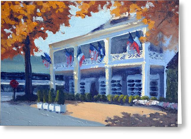 5 Star Greeting Cards - Entrance to the Inn Greeting Card by Armand Cabrera