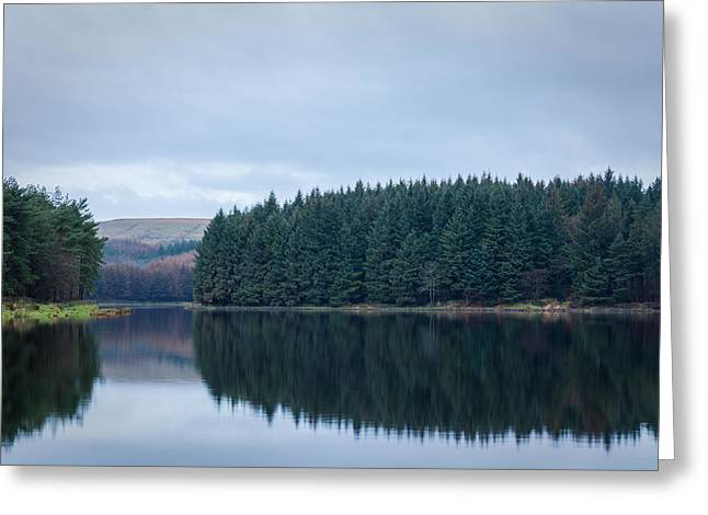 Hiking Greeting Cards - Entwistle Forest. Greeting Card by Daniel Kay