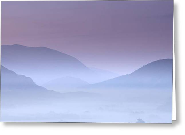 Vale Greeting Cards - Ephemeral Light over St Johns in The Vale Greeting Card by John Potter