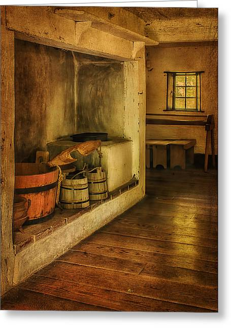 18th Century Greeting Cards - Ephrata Cloister Greeting Card by Priscilla Burgers