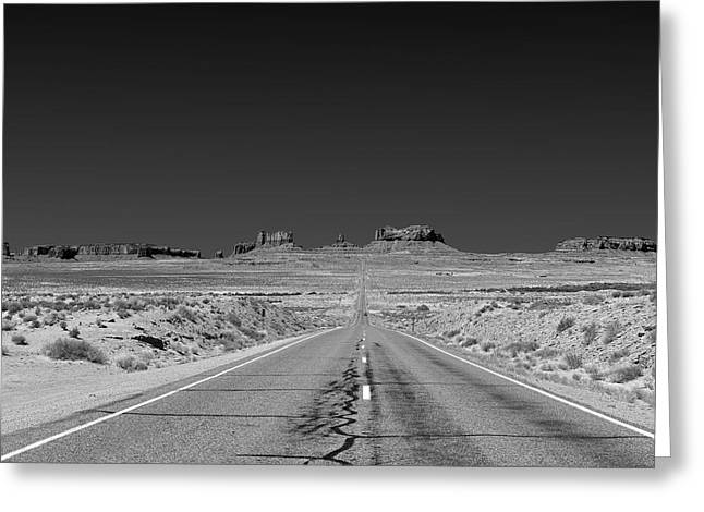 Epic Monument Valley Greeting Card by Christine Till