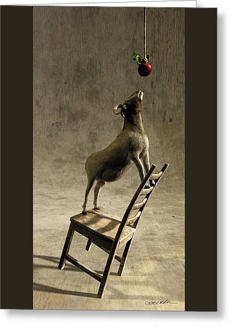 Equilibrium Greeting Card by Cynthia Decker
