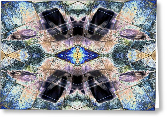 Symmetry Axis Greeting Cards - Equilibrium Of Professed Virtues 2013 Greeting Card by James Warren