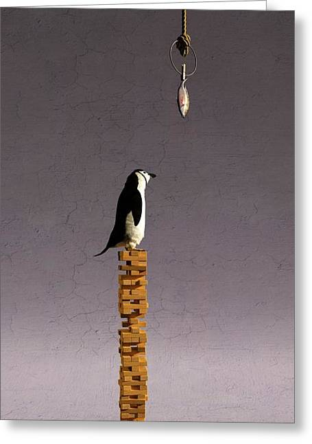 Equilibrium V Greeting Card by Cynthia Decker