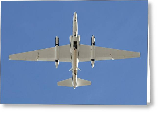 U2 Photographs Greeting Cards - ER-2 high-altitude research aircraft Greeting Card by Science Photo Library