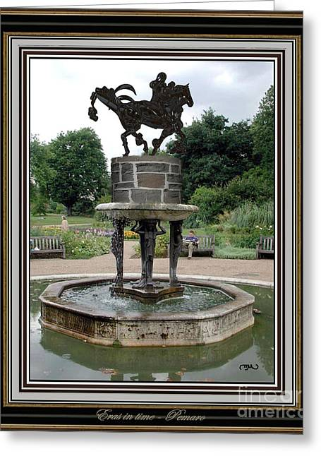 Statue Portrait Greeting Cards - Eras in time EIT2 Greeting Card by Pemaro
