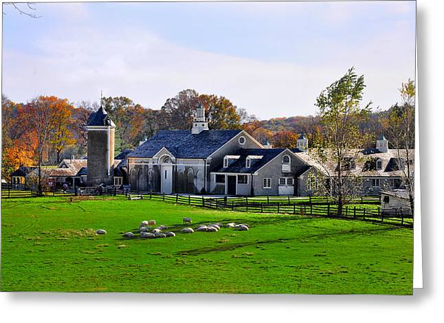 Erdenheim Farm Greeting Cards - Erdenheim Farm in Whitemarsh Pa Greeting Card by Bill Cannon