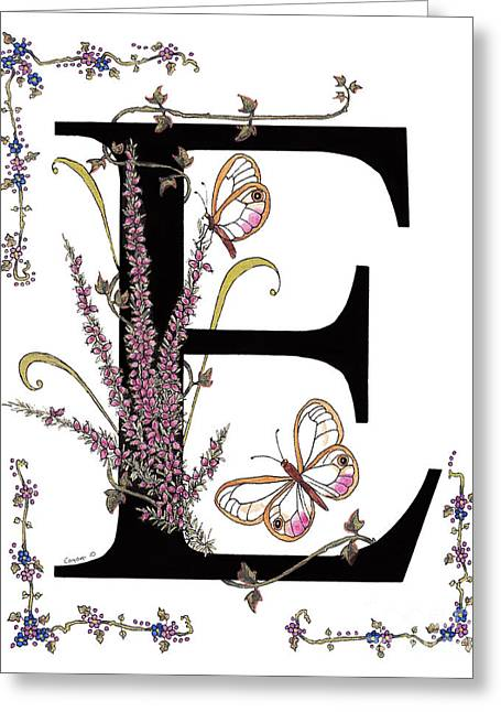 Personal Mixed Media Greeting Cards - Erica and Esmeralda Butterflies Greeting Card by Stanza Widen