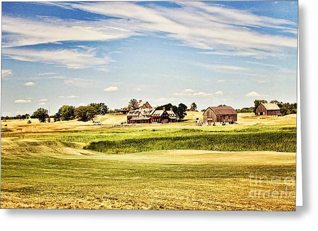 Erin Greeting Cards - Erin Hills Greeting Card by Scott Pellegrin