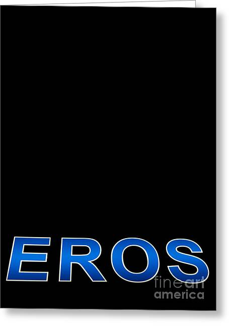 Advertise Greeting Cards - Eros Greeting Card by Stylianos Kleanthous