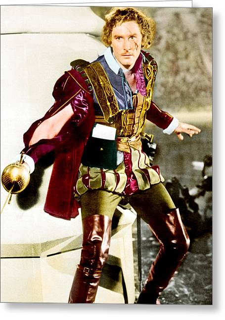 1930Õs Greeting Cards - Errol Flynn in Captain Blood  Greeting Card by Silver Screen