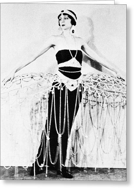 Ert� Costume, 1922 Greeting Card by Granger