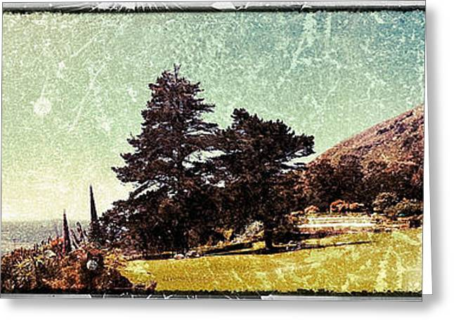 Big Sur California Greeting Cards - Esalen Coast Greeting Card by Brandon Montgomery