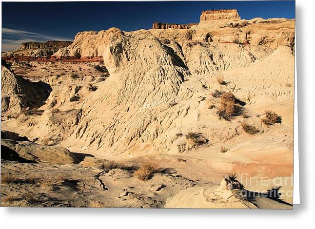 Toad Stools Greeting Cards - Escalante Badlands Greeting Card by Adam Jewell